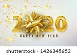 2020 happy new year vector... | Shutterstock .eps vector #1426345652