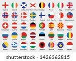 national flags of european... | Shutterstock .eps vector #1426362815