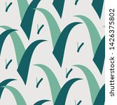seamless pattern with elements... | Shutterstock .eps vector #1426375802