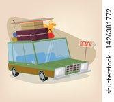 funny illustration of a...   Shutterstock .eps vector #1426381772
