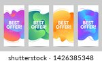 set of sale banner for social... | Shutterstock .eps vector #1426385348