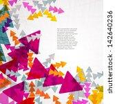 arrow background | Shutterstock .eps vector #142640236