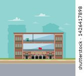historical building building... | Shutterstock .eps vector #1426417898