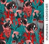 watercolor seamless pattern... | Shutterstock . vector #1426431485