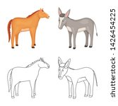 vector illustration of breeding ... | Shutterstock .eps vector #1426454225