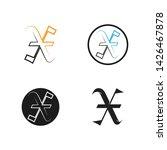 letter x logo vector icon x... | Shutterstock .eps vector #1426467878