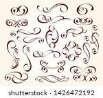 elegant design elements for... | Shutterstock .eps vector #1426472192