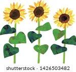 vector acrylic illustration of...   Shutterstock .eps vector #1426503482