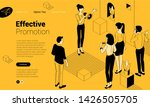social media promotion and ad... | Shutterstock .eps vector #1426505705