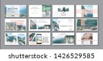 business presentation template. ... | Shutterstock .eps vector #1426529585