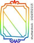 rainbow gradient line drawing... | Shutterstock .eps vector #1426552115
