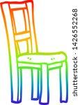 rainbow gradient line drawing... | Shutterstock .eps vector #1426552268