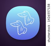chicken wings app icon....