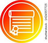 diploma certificate circular... | Shutterstock .eps vector #1426557725