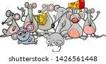 cartoon illustration of cute... | Shutterstock .eps vector #1426561448