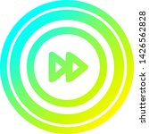 fast forward circular icon with ... | Shutterstock .eps vector #1426562828