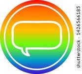 speech bubble circular icon... | Shutterstock .eps vector #1426566185