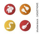 butchers meat flat design long... | Shutterstock .eps vector #1426574345