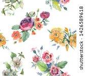 bouquet floral botanical...   Shutterstock . vector #1426589618