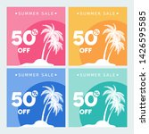 summer time banner. abstract... | Shutterstock .eps vector #1426595585