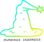 cold gradient line drawing of a ... | Shutterstock .eps vector #1426596515