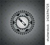 cutter icon inside dark emblem | Shutterstock .eps vector #1426596725