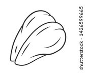 chicken breast linear icon.... | Shutterstock .eps vector #1426599665