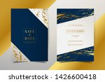 luxury invitation cards with... | Shutterstock .eps vector #1426600418