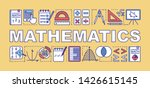 mathematics word concepts...