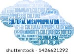 cultural misappropriation word... | Shutterstock .eps vector #1426621292