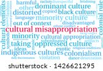 cultural misappropriation word... | Shutterstock .eps vector #1426621295