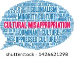 cultural misappropriation word... | Shutterstock .eps vector #1426621298