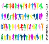 collection of multicolored...   Shutterstock .eps vector #1426627115