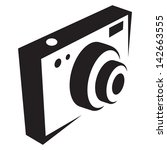 photo camera icon | Shutterstock .eps vector #142663555
