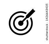 target goal vector icon design...