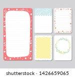 design elements for notebook ...   Shutterstock .eps vector #1426659065