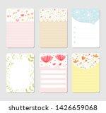 design elements for notebook ... | Shutterstock .eps vector #1426659068