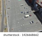 parking of commercial center in ... | Shutterstock . vector #1426668662