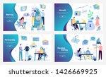 vector web site design template.... | Shutterstock .eps vector #1426669925
