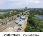 road in kiev at summer time ... | Shutterstock . vector #1426686362