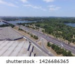 road in kiev at summer time ... | Shutterstock . vector #1426686365