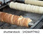 traditional hungarian street...   Shutterstock . vector #1426697462