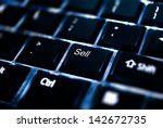 sell key on keyboard | Shutterstock . vector #142672735