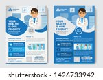 medical flyer poster pamphlet... | Shutterstock .eps vector #1426733942