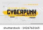 cyber punk modern user...