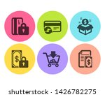 change card  private payment... | Shutterstock .eps vector #1426782275
