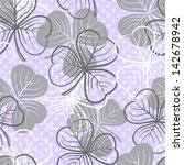 seamless floral pattern with...   Shutterstock .eps vector #142678942
