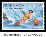 grenada   circa 1977  a stamp...   Shutterstock . vector #1426790798