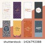 autumn sale flyer dl size... | Shutterstock .eps vector #1426792388