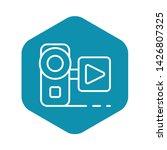 video live blog camera icon....